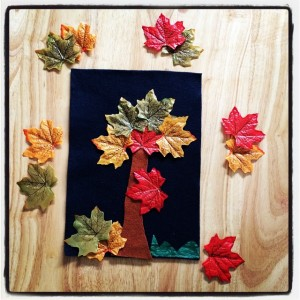 Josie's autumn tree picture