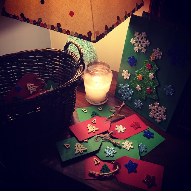 advent activity with our   box